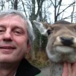 De har hjort en selfie