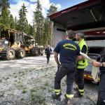 Saknade brandvakt men förnekar brott