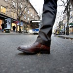 Handlare skeptiska till ny gågata i city