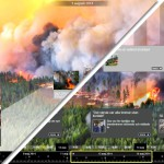Den stora skogsbranden – dag för dag