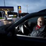 Ljusning för bilisterna med lägre bensinpris