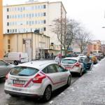 P-böter men ingen skylt om att det är förbjudet att parkera