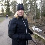 Susanne vågar inte springa