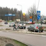 """""""Cyklisters företräde stoppar upp bilister"""""""