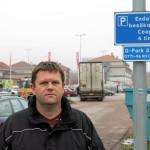Tvist om skyltningen efter parkeringsbot