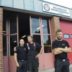 De tre brandmännen kan hyllas i tv-gala